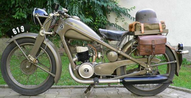 Мотоцикл CZ-175 Special