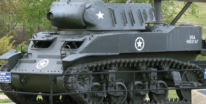 САУ 75-mm Howitzer Motor Carriage M-8