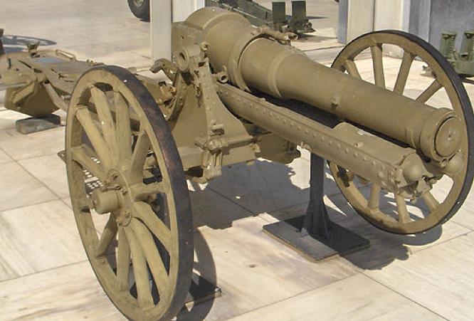 Полевая пушка Canon de 105 modèle 1925/27 Schneider