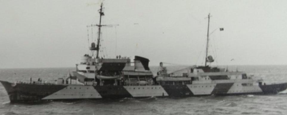 Штабной корабль «Hela»