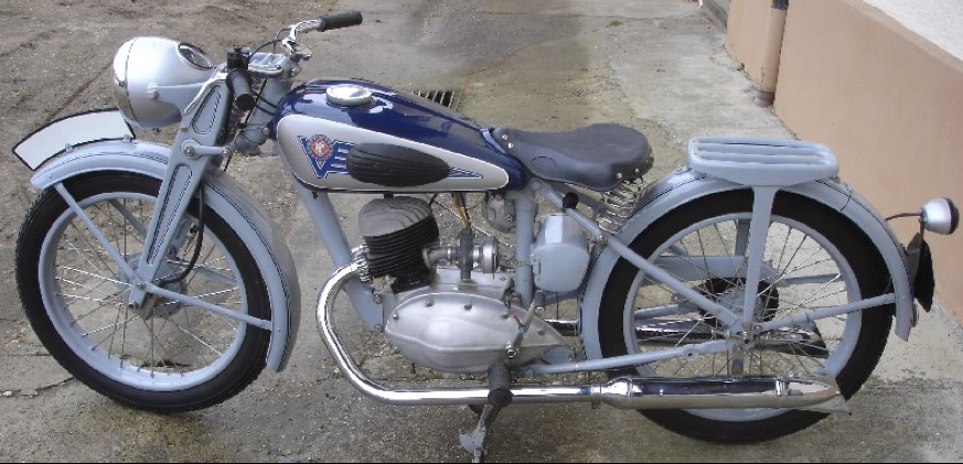 Мотоцикл Viktoria KR-20