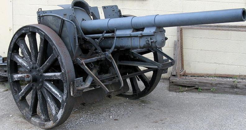75-мм полевая пушка Canon de 75 mle. GP-I