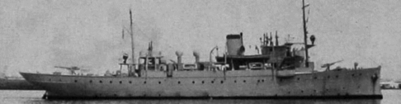 Канонерская лодка «Patria»