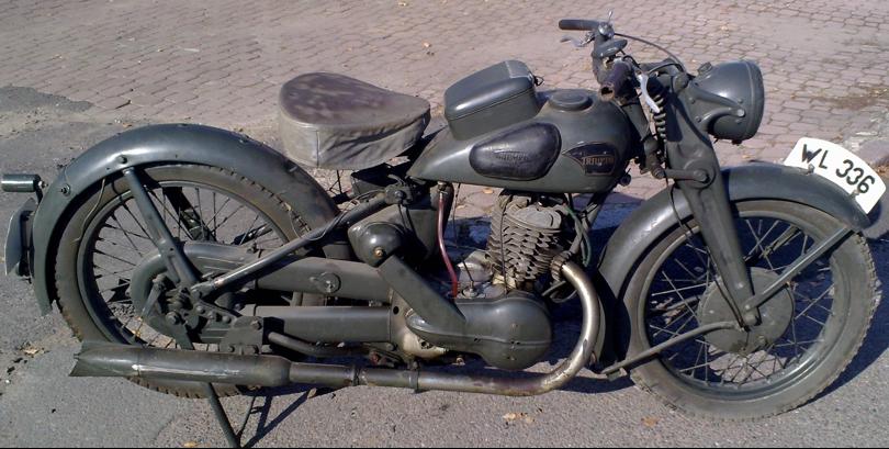Мотоцикл Triumph BD-250-W