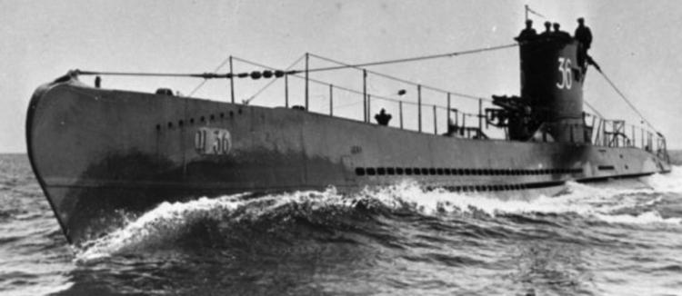 Подводная лодка «U-36»