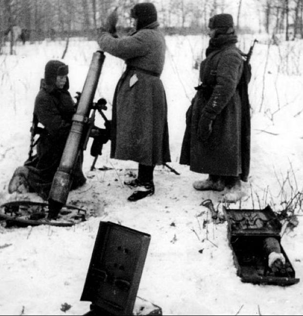 107-мм горно-вьючный миномет обр. 1938 г.