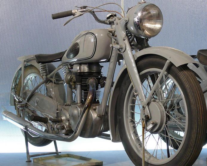 Мотоцикл Viktoria KR-35 SN Pionier