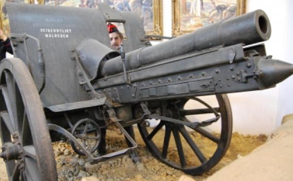75-мм полевая пушка Canon de 75 mle TR