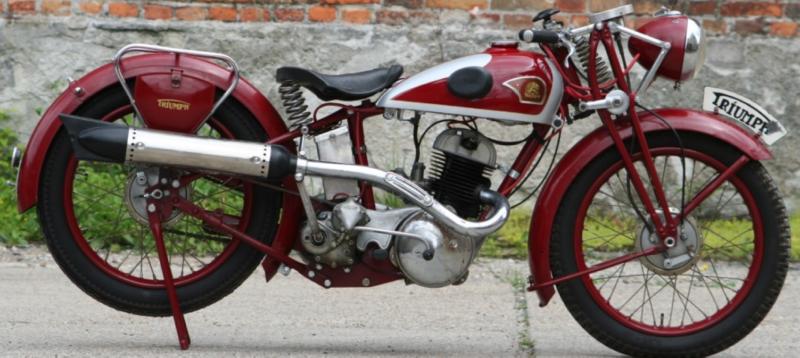 Мотоцикл Triumph S-350