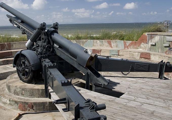 Среднее полевое орудие Canon de 120-mm L mle 1931