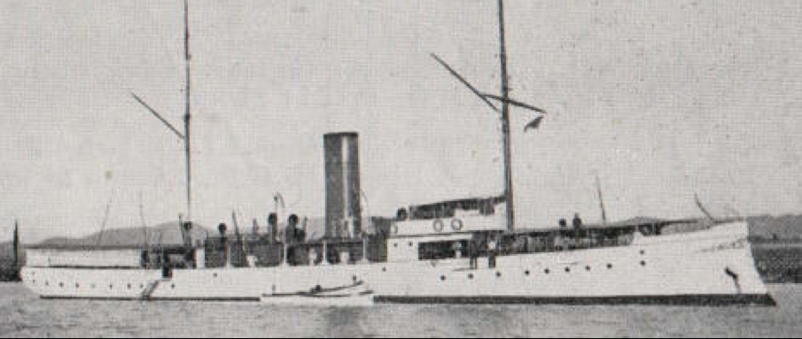 Канонерская лодка «Baire»