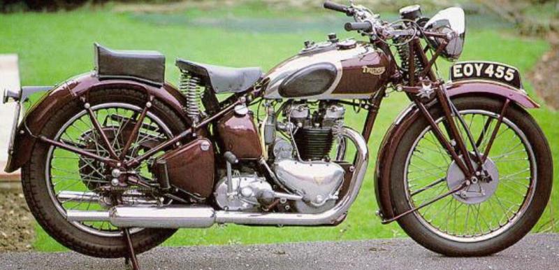 Мотоцикл Triumph-5T