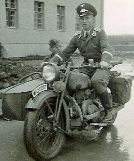 Мотоцикл Viktoria KR-6 с коляской