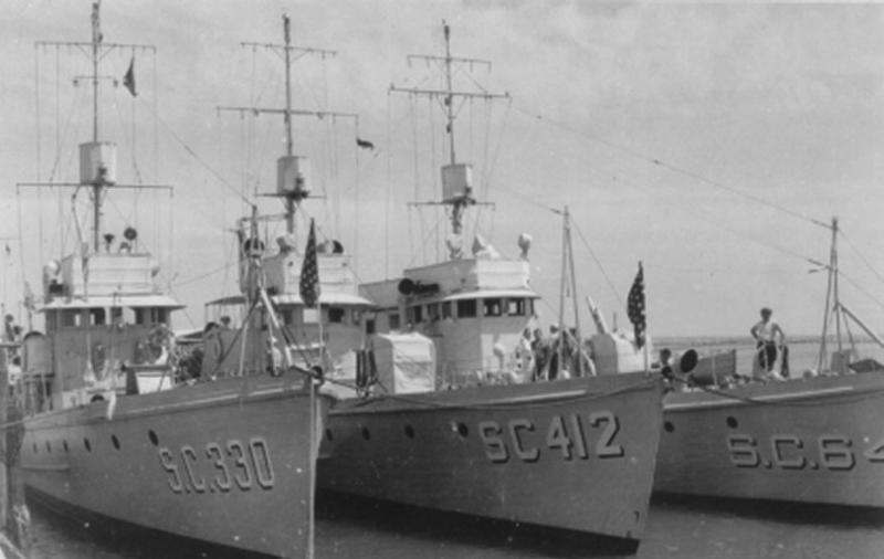 Охотники «SC-330», «SC-412» и SC-64»
