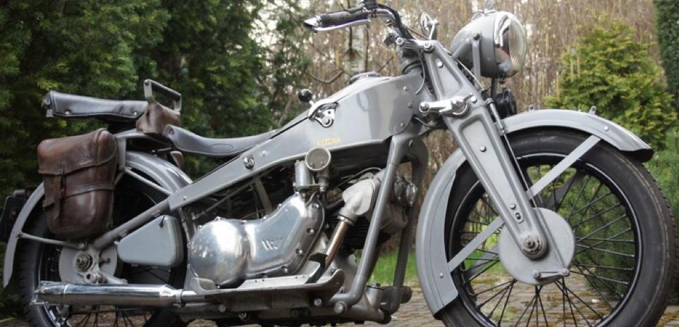Мотоцикл Viktoria KR-9