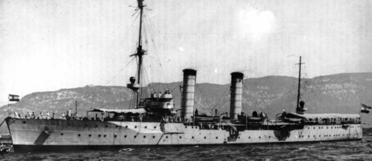 Корабль ПВО «Niobe»