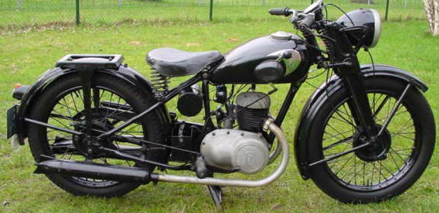Мотоцикл Zundapp DB-200 Derby