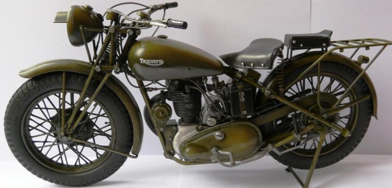 Мотоцикл Triumph 3-HW