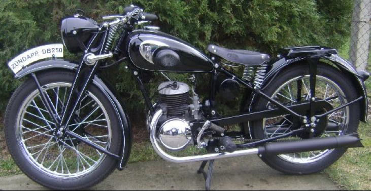 Мотоцикл Zündapp DB-250