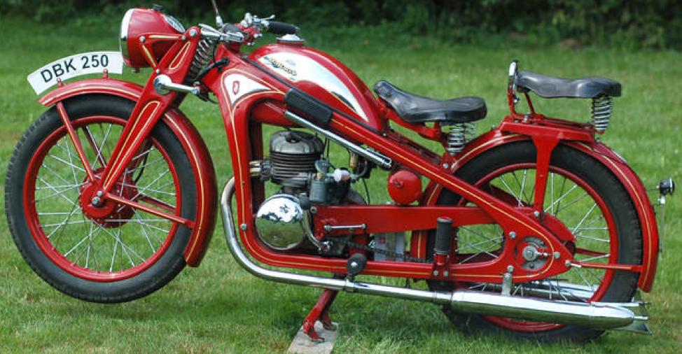 Мотоцикл Zündapp DBK-250