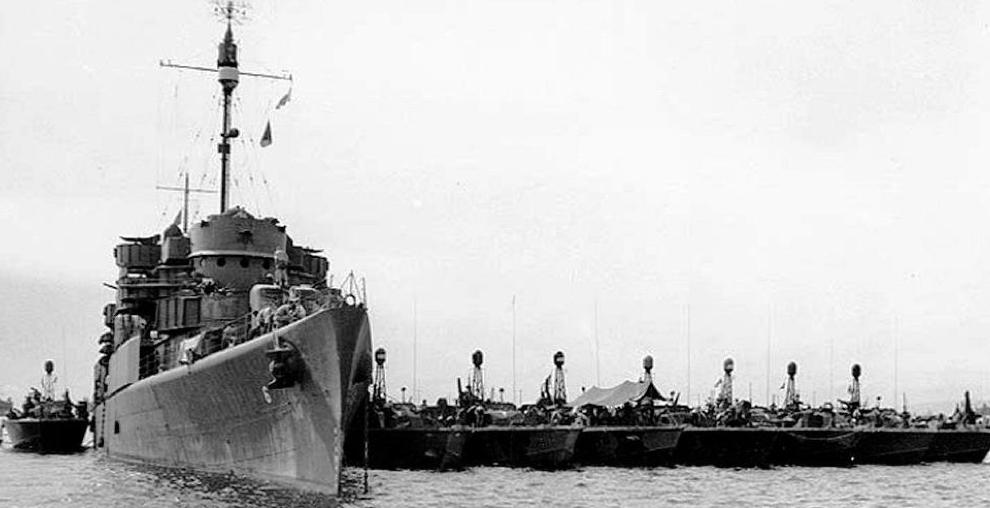 Плавбаза торпедных катеров «Oyster Bay» (AGP-6)