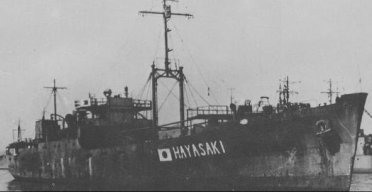 Корабль продовольственного снабжения «Hayasaki»