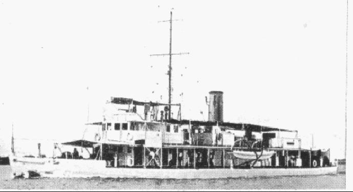 Канонерская лодка «Sandpiper»
