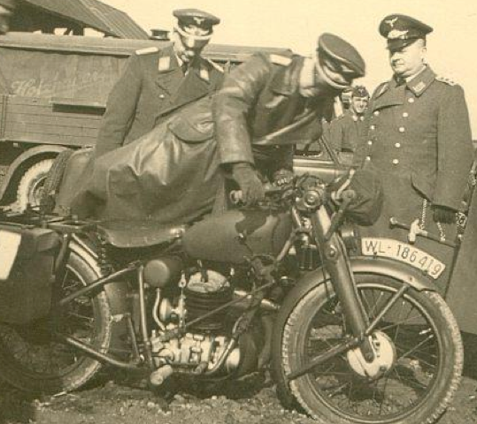 Мотоцикл Puch 350-GS