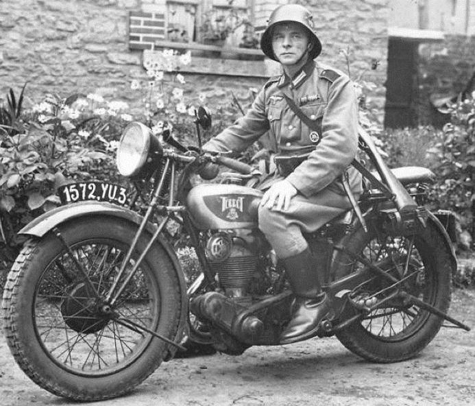 Мотоцикл Terrot 350 HSTA