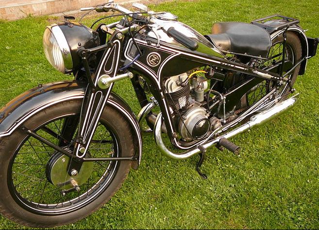 Мотоцикл CZ-350