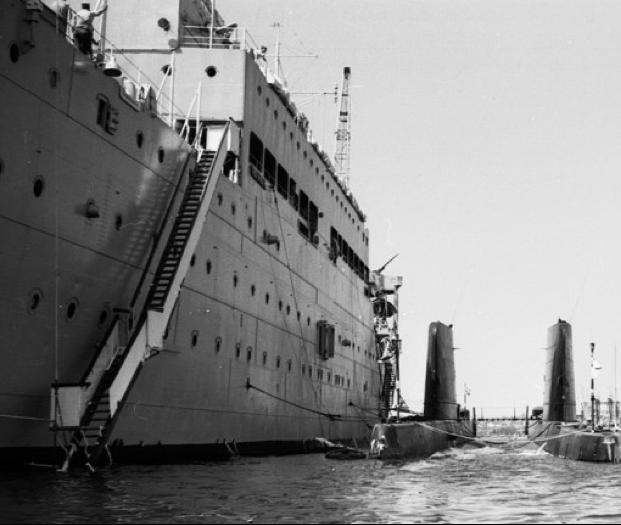 Плавбаза подводных лодок «Forth» (A-187)
