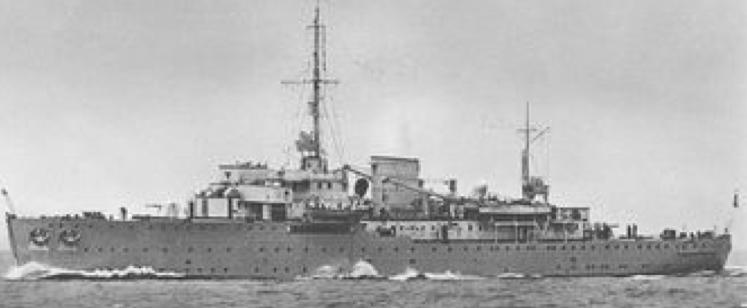 Плавбаза торпедных катеров «Tanga»
