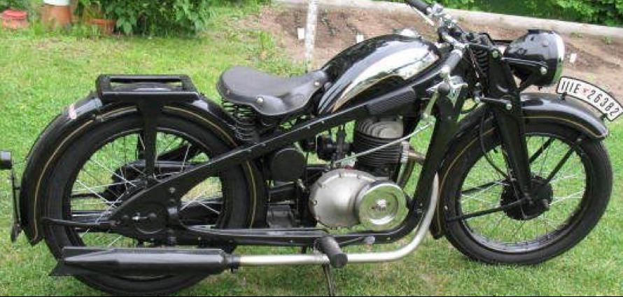 Мотоцикл Zündapp DK-200