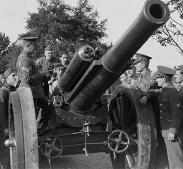 Тяжелая полевая пушка BL-60 pounder gun