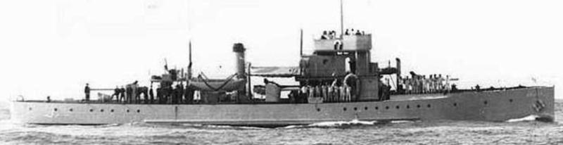 Канонерская лодка «Brinio»