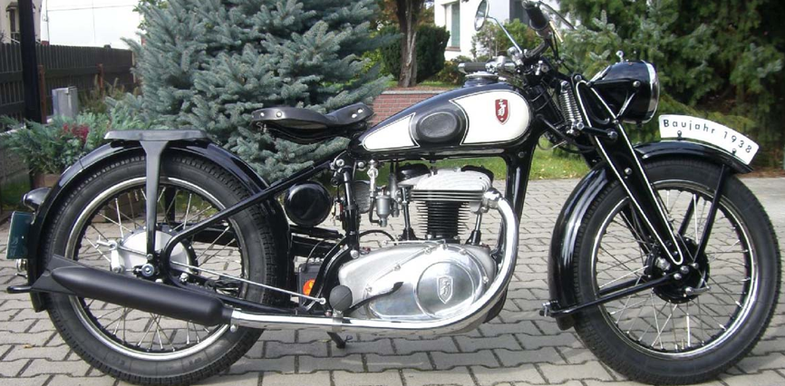 Мотоцикл Zundapp DS-350