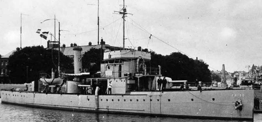 Канонерская лодка «Friso»