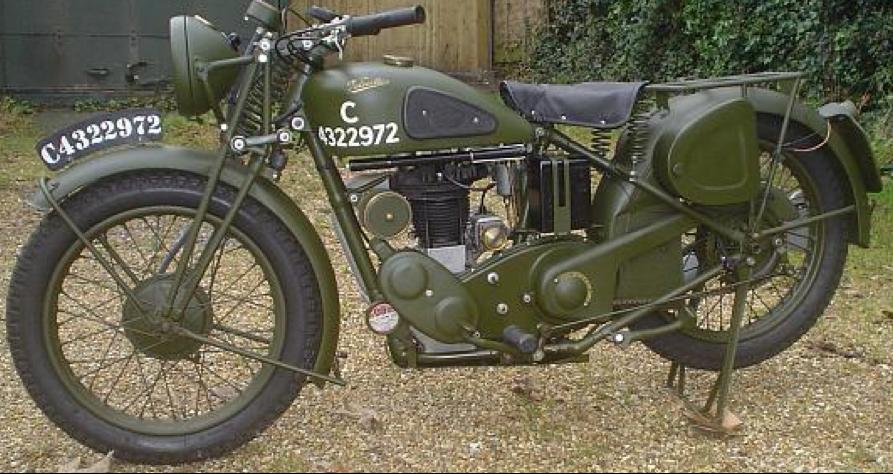Мотоцикл Velocette MAF