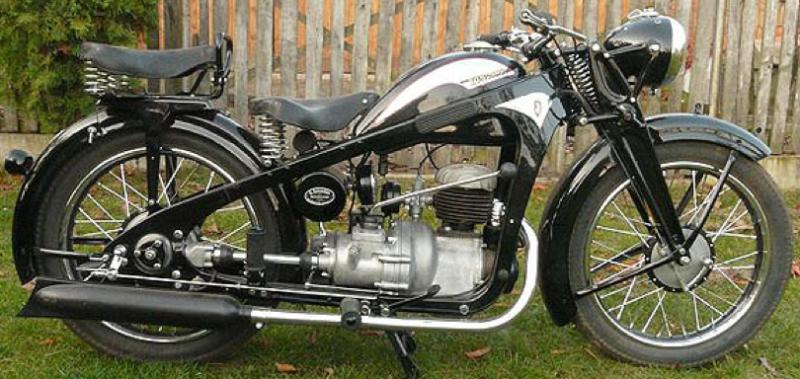 Мотоцикл Zündapp KK-200