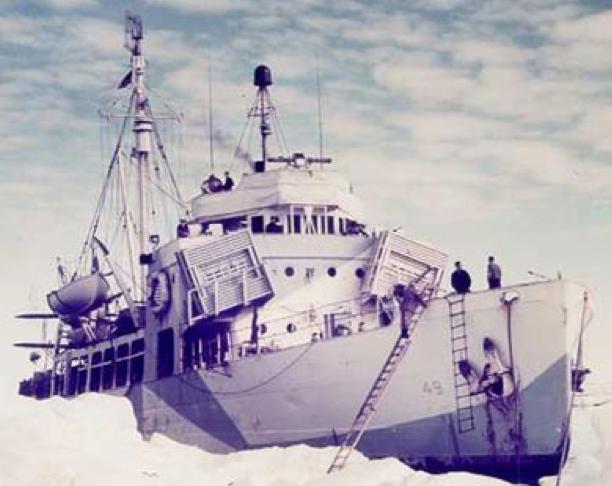 Корабль береговой охраны WPG-49 «Northland»