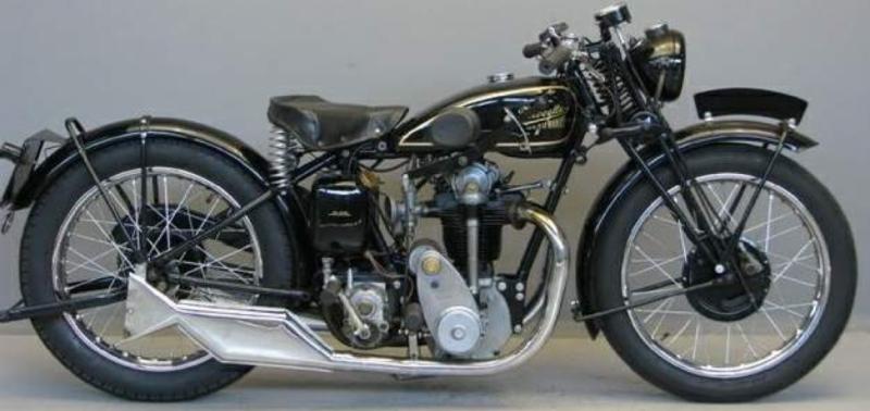 Мотоцикл Velocette КТР