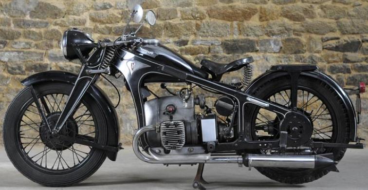 Мотоцикл Zundapp K-500W
