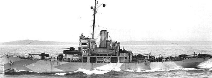 Корабль береговой охраны WPG-45 «Haida»