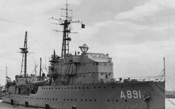 Канонерская лодка «Soemba»