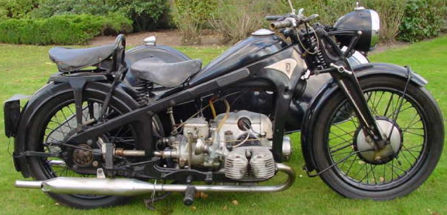 Мотоцикл Zundapp KS-500