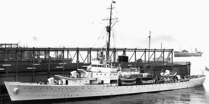 Корабль береговой охраны WPG-32 «Campbell»
