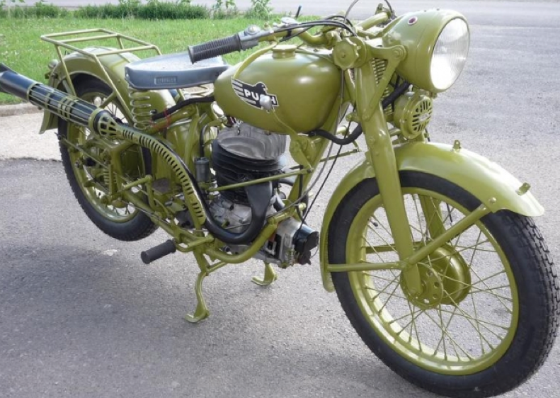 Мотоцикл Meray GS-350