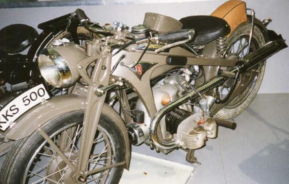 мотоцикл Zündapp KKS-500