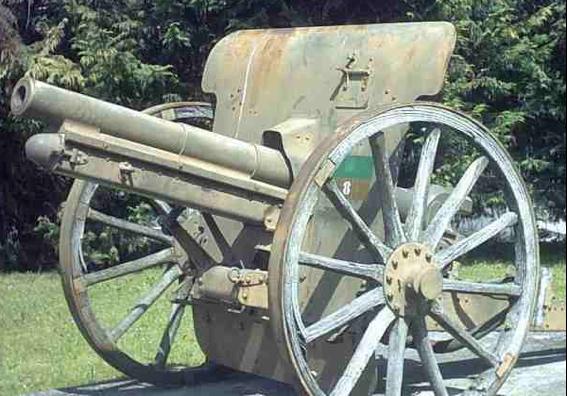 Полевая пушка Canon de 75/27  modello 1912