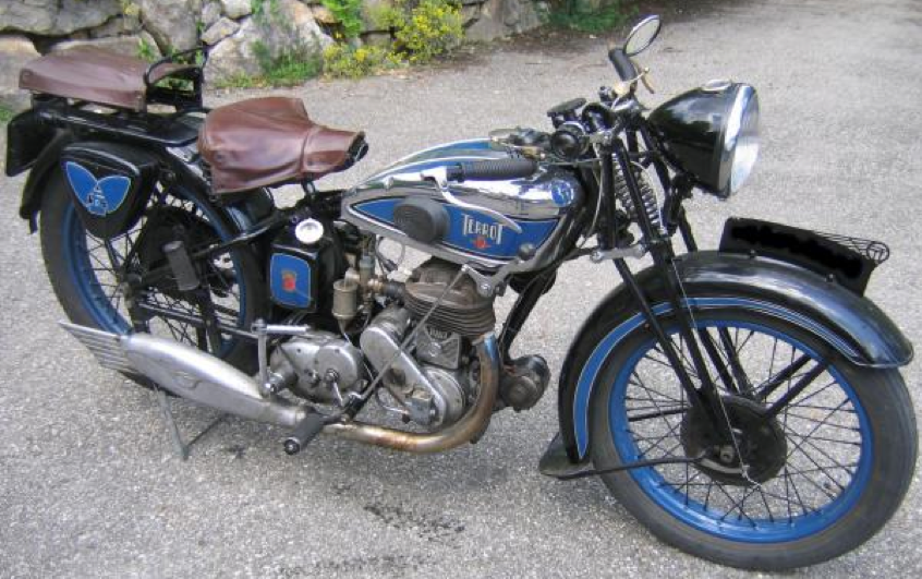 Мотоцикл Terrot HDA